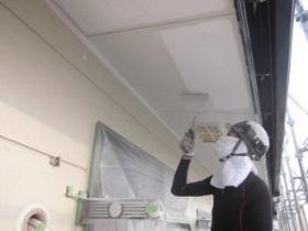 飯塚市 外壁塗装作業3
