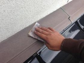 宗像市 外壁塗装作業1