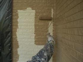 北九州市 外壁塗装作業3