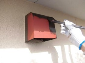 宗像市 外壁塗装作業2